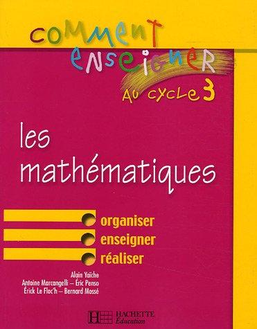Les mathématiques au cycle 3