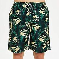 Pantalones Cortos de Playa, Pantalones Cortos de Surf Hawaianos Ocasionales, Pantalones Cortos de Verano para Hombres, Good dress, Verde, METRO