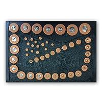 48 Tampons pour Saxophone Soprano Lot de 48 tampons Résonateurs en Métal Universel