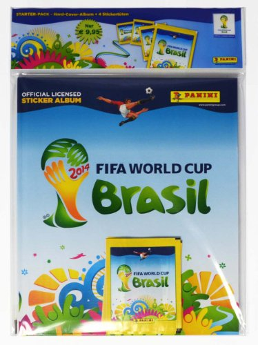FIFA World Cup Brasil 2014 - Deluxe Hardcover Starterset (Sticker Cup Panini 2014 World)