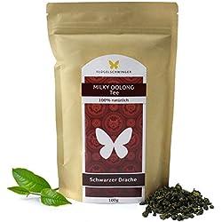 100g Milky-Oolong-Tee, Schwarzer-Drache-Tee, weiche und blumige Note