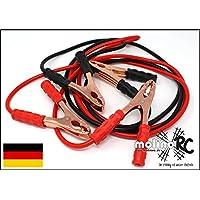 | Starthilfekabel für 12 Volt und 24 Volt | Überbrückungskabel | inkl. Aufbewahrungstasche | 400 AMP | 2,5 Meter | Kupfer | ein Muss in jedem KFZ | 12V & 24V | Blitzversand aus D | deutsche Marke molinoRC®