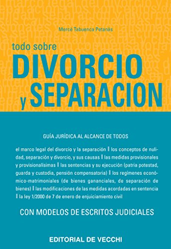 Todo sobre divorcio  y separación por Mercè Tabuenca Petanàs