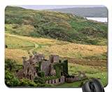ireland county galway clifden castle Mouse Pad, Mousepad (Medieval Mouse Pad)