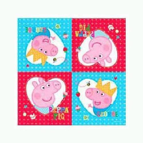 Peppa-Pig-Tovaglioli-Di-Carta-33X33-cm-16-pezzi