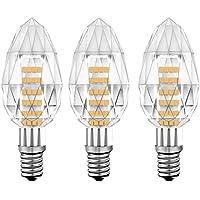 KINDEEP® Lampadina LED E14 a Candela -