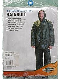 STASPT verde .10mm Rainsuit–pequeño