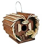 Kingfisher Wooden Bird Hotel