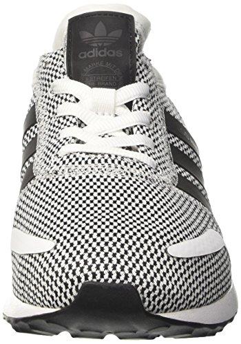 adidas Angeles, Scarpe da Ginnastica Basse Uomo Grigio (Ftwr White/core Black/ftwr White)