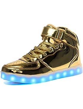 [Patrocinado]Voovix LED Enciende para Arriba los Zapatos para los Muchachos y las Muchachas