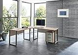 Arbeitszimmer Büromöbel komplett Set OFFICE EDITION (Schreibtisch mit Rolli)