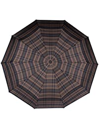 Regenschirme Reiseaccessoires Regenschirm Taschenschirm Schwarz Mit Streifen In Neonfarben verschiedene Farbe