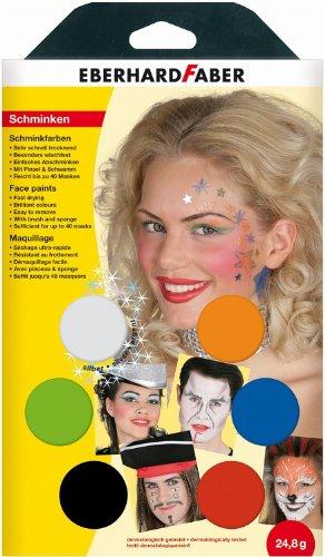 Preisvergleich Produktbild Eberhard Faber 579006 Schminkfarbe Musical,  6er Set
