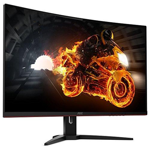 AOC Gaming C32G1 80 cm (31,5 Zoll) Curved Monitor (HDMI, 1ms Reaktionszeit, DisplayPort, 1920 x 1080, 144 Hz, FreeSync) schwarz