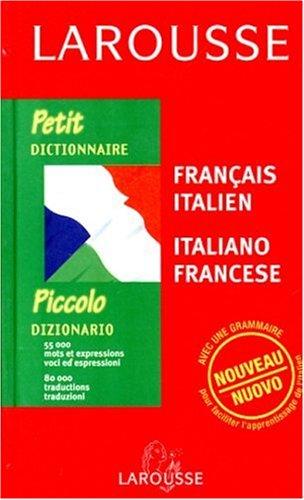 Petit Dictionnaire : Italien/français, français/italien