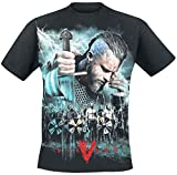 Vikings Ragnar - Battle Camiseta Negro M
