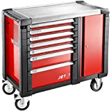 JET.T7M3 FACOM JET 7 DRAWER MOBILE WORKBENCHES - 3 MODULES PER DRAWER RED 1154X546X1000MM HIGH