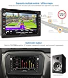 Pumpkin-OCTA-Core-2GB-32GB-Android-Car-Stereo-with-DVD-Player-for-VW-Golf-Passat-Transporter-Jetta-MK3-MK4-MK5-Support-GPSDABSWCBluetoothRadio-RDSPhone-LinkWIFIAV-OutputSubwooferOBDCam-In
