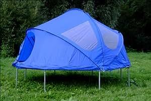 spring fun kinder tente pour trampoline bleu 244 cm sports et loisirs. Black Bedroom Furniture Sets. Home Design Ideas