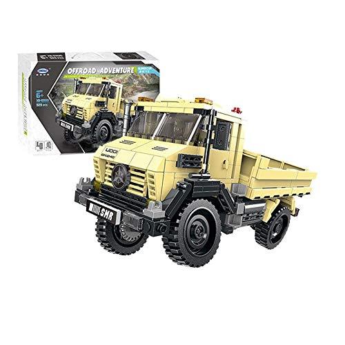 ATV-Bausteine   für kleine Partikel, die zu Kinderspielzeug- LKWs zusammengebaut wurden (529 Teile) baby spielzeugstrand spielzeugspielzeug für draußen ()