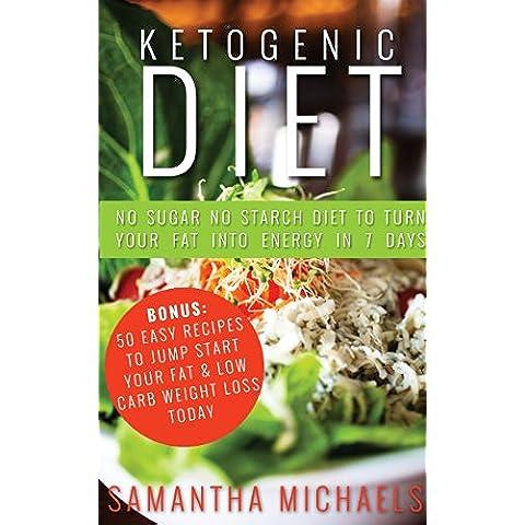 Ketogenic Diet : No Sugar No Starch Diet To Turn