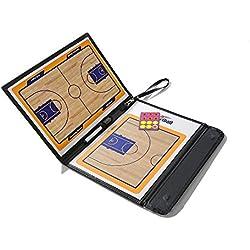 Anam - Pizarra magnética táctica de entrenamiento de baloncesto borrable, con rotulador 2en1 para escribir y limpiar