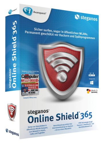 Security Shield Tool (Steganos Online Shield 365)