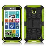 Lumia 630 Hülle, JAMMYLIZARD [ ALLIGATOR ] Doppelschutz