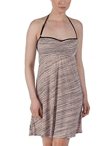 Bench - Jerseykleid STRAPUP, Vestito Donna, Rosa (Pale Dogwood), Large (Taglia Produttore: Large)