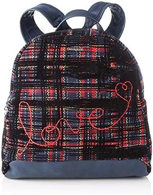 Desigual Backpack Inlove_Venice Mini, Mochila moderna. para Mujer, ,
