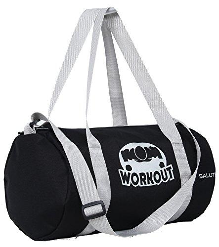 Salute-Hunk-Polyester-19-Ltrs-Black-Gym-Bag