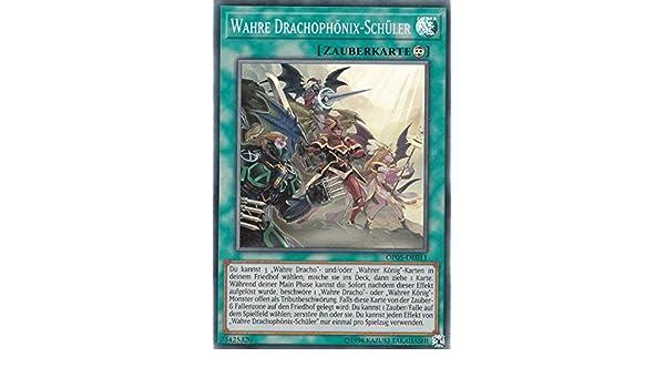 Yu-GI-OH Wahre Drachophönix Schüler Super Rare OP05-DE011 NEU!