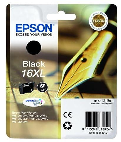 Epson Cartouche - Epson Cartouche d'encre Noir 16