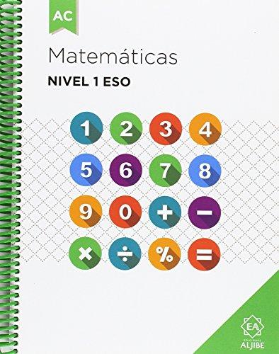 Matemáticas Nivel 1 ESO - 9788497008280 por Salvador D. González, Mª Carmen López, Belén Navarro y Mª Inmaculada Jerez Lidia Paniagua González