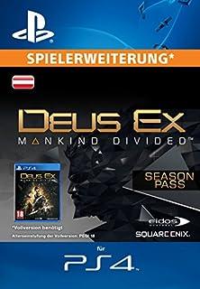 Deus Ex: Mankind Divided - Season Pass [Spielerweiterung] [PS4 PSN Code - österreichisches Konto] (B01K8VP2JO)   Amazon price tracker / tracking, Amazon price history charts, Amazon price watches, Amazon price drop alerts