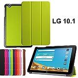 asng LG G Pad X 10.1Case-Ultra Slim Leicht Standing Cover für LG G Pad 225,7cm (V940)/LG G Pad X 25,7cm (4G LTE at und T V930) Android 2015Tablet Grün