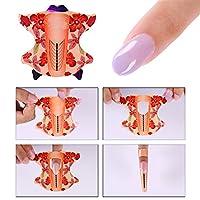 Born PrettyNagel-Form für Acryl-/UV-Gel-Nagelverlängerung, Maniküre-Werkzeug, 100 Stück