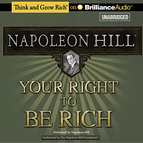 Your Right to Be Rich  Audiolibri