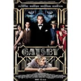 The Great Gatsby (24inch x 36inch / 60cm x 90cm) Silk Print Poster - Seide Plakat - 8C6AA4