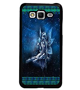 PrintDhaba Angel D-2492 Back Case Cover for SAMSUNG GALAXY GRAND PRIME (Multi-Coloured)