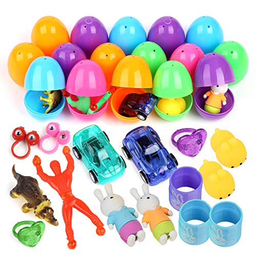 Meteor 32 uova di pasqua giocattolo riempite con mini giochi e gadget