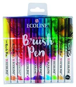 Pinselstift Talens Ecoline Brush Pen 10er Set