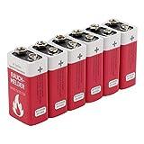 ANSMANN Batterie speziell für Rauchmelder Feuermelder...