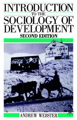 Price comparison product image Introduction to the Sociology of Development