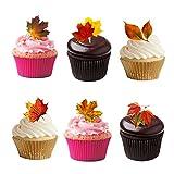 24 Essbare Cupcake Topper Kuchen Dekoration Offen Ich Liebe Biber Vorgeschnitten