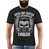 Männer und Herren T-Shirt Väter mit Bärten Größe S - 8XL