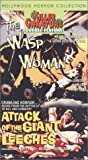 Killer Creatures: Wasp Woman & Attack of Giant [VHS] [Import USA]