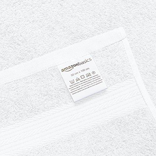 Zoom IMG-3 amazonbasics set di 2 asciugamani