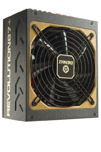 Enermax Revolution 87+ 1000w ERV1000EWT-G Alimentatore PC ATX 850W, 80 Plus Gold, Semi Modulare Nero