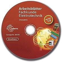Arbeitsblätter Fachkunde Elektrotechnik - interaktiv: Einzellizenz